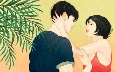 Корејски илустратор на реалистичен начин ја доловува нежноста и интимноста помеѓу вљубените