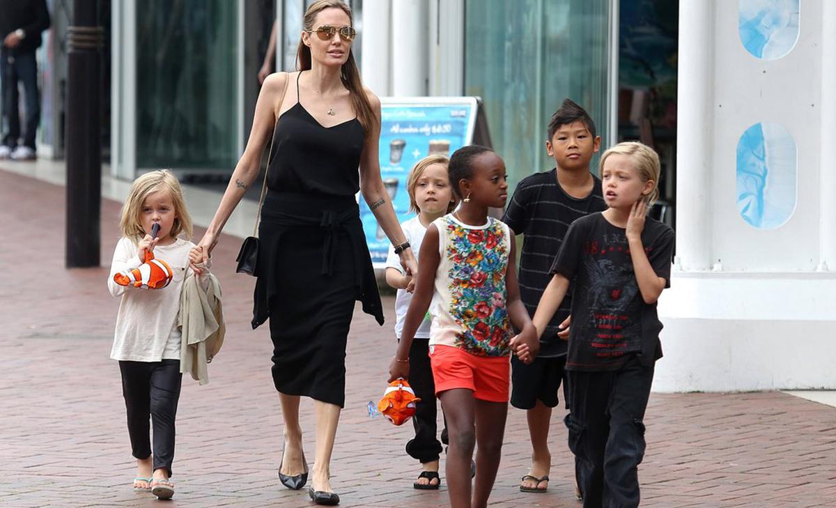 Моќта на мајчинството  Дознајте зошто Анџелина Џоли е прекрасна и силна мајка