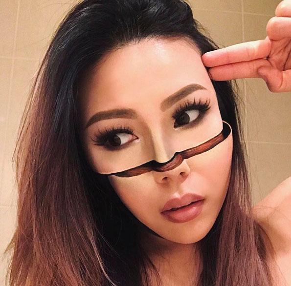 Поранешна учителка се откажала од работата за да создава оптички илузии со помош на шминка
