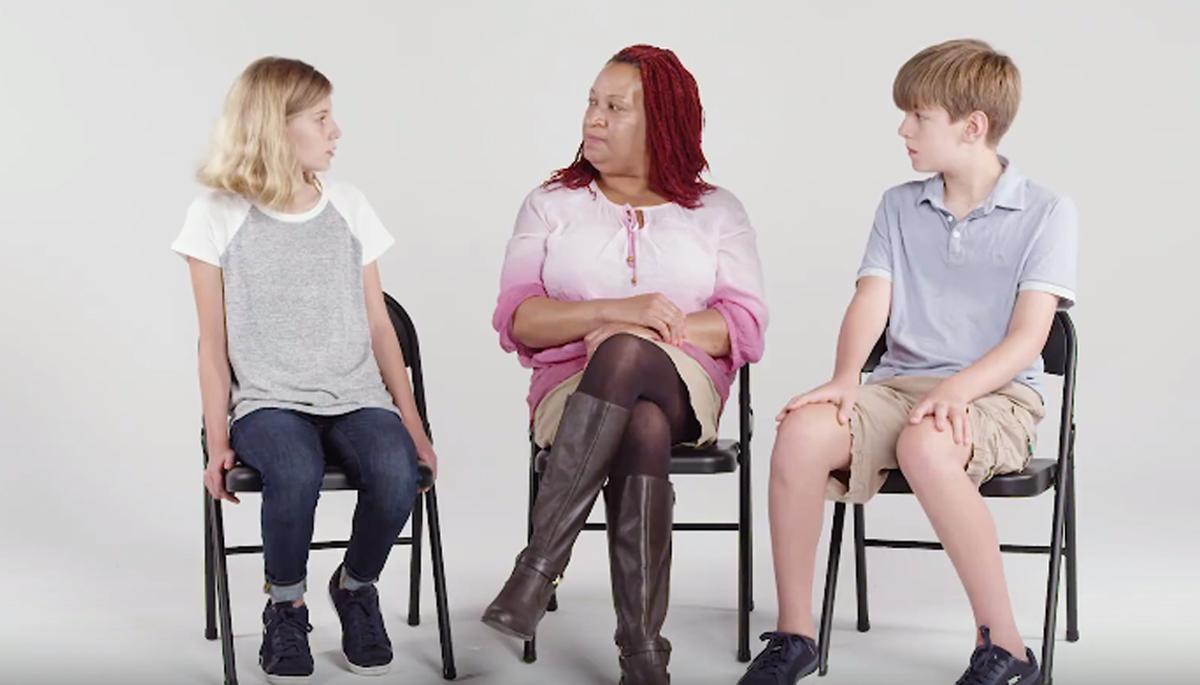 Дечиња запознаваат глува личност  Нивните прашања ќе ве остават без зборови