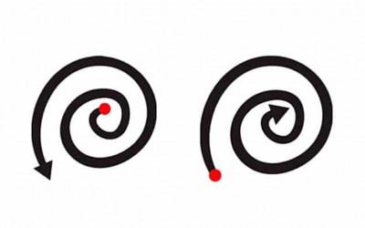Нацртајте спирала и дознајте нешто повеќе за себе!