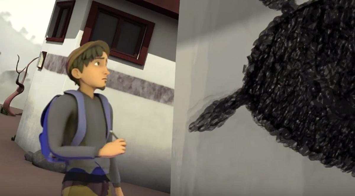 Уметникот и детето  Краток анимиран филм што ќе ви покаже дека креативноста не познава граници