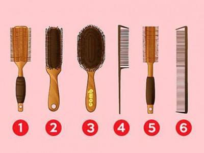 Со каква четка ја чешлате косата? Одговорот може да ви открие нешто повеќе за вашиот карактер