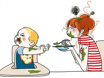 Комични и реалистични илустрации: Како изгледа животот на мајките?