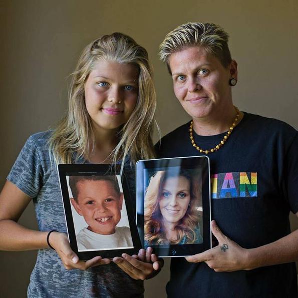 Мајка и син си го промениле полот и станале татко и ќерка