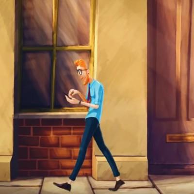 На прв поглед: Краток анимиран филм за човечката зависност од технологијата