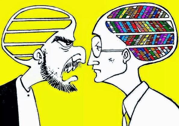 Неправдите во светот се должат на смелоста на глупавите и несигурноста на паметните луѓе