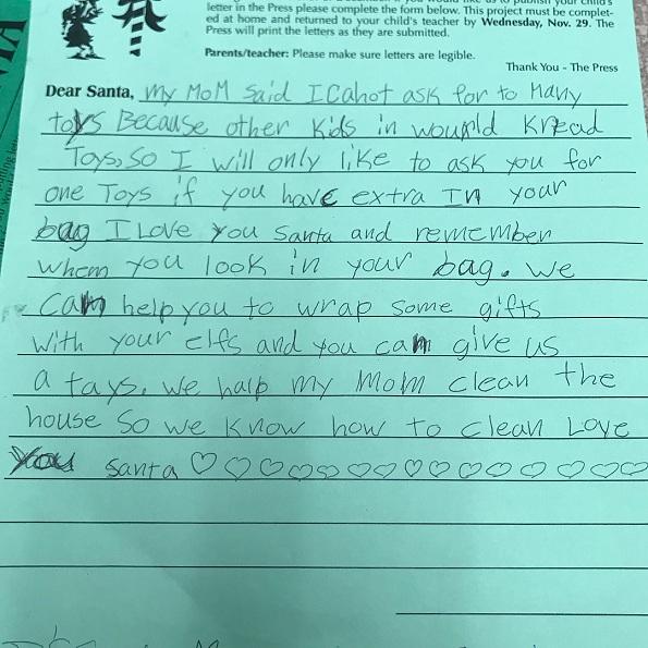 Најслатките и најсмешните писма до Дедо Мраз што некогаш сте ги прочитале!