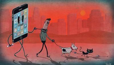 Реалистични илустрации што ја покажуваат скриената страна на модерниот свет