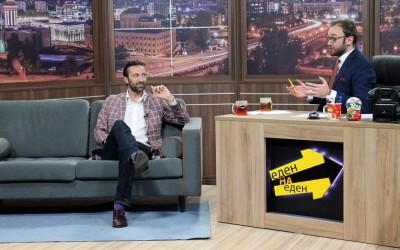 """Ќе има смеење: Сашко Коцев гостин во """"Еден на Еден"""" (ВИДЕО)"""