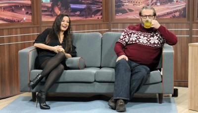 """Смеење и пеење: Игор Џамбазов и Елена Ристеска во """"Еден на Еден"""" (ВИДЕО)"""