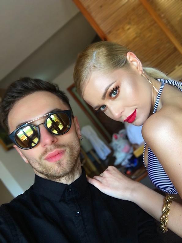 Доковски (VD Make Up) и Викторија Лоба