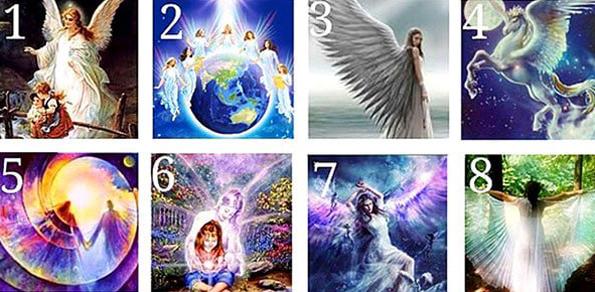 Разгледајте ја оваа слика во мир и тишина и одберете го вашиот ангел чувар