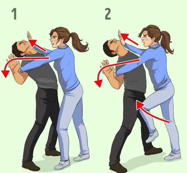 7 техники за самоодбрана за жени препорачани од професионалец