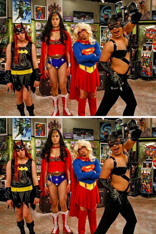 Дневен предизвик: Најдете ги разликите помеѓу фотографиите од вашите омилени ТВ серии!