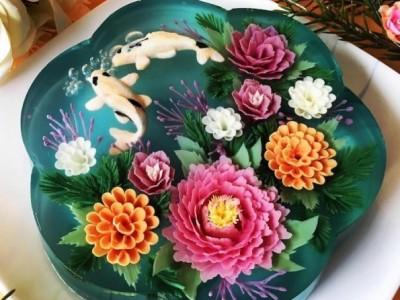 """Уметница создава неверојатни """"3Д желе торти"""" со пејсажи"""