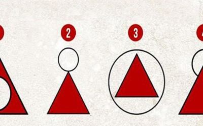 Нацртајте круг и триаголник и откријте нешто важно за себе