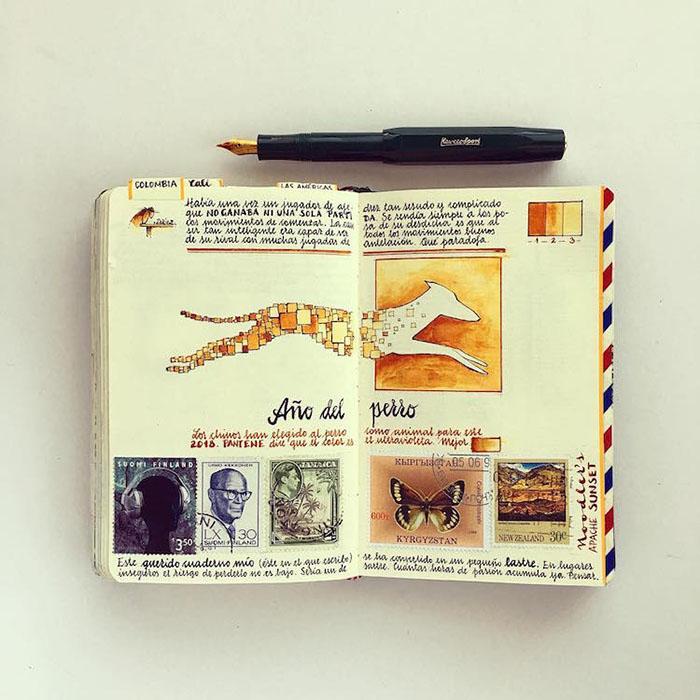 Погледнете ги прекрасните тетратки на овој талентиран авантурист