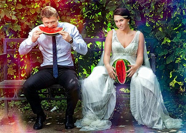Урнебесни и чудни фотографии од руски венчавки