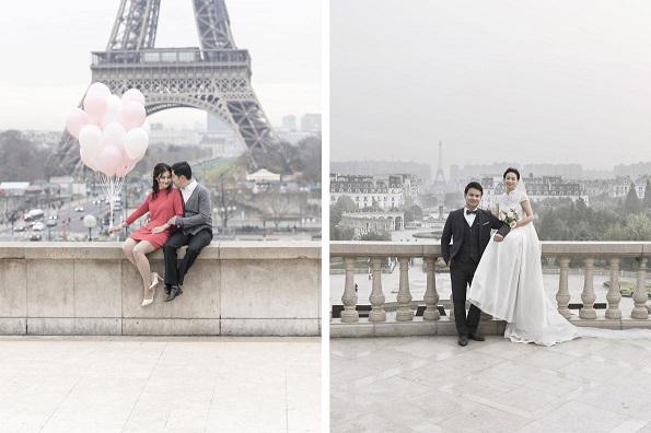 Погледнете ги овие фотографии од кинескиот град што го копира Париз